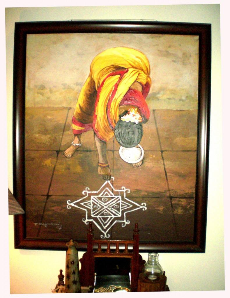 Seema and Rakesh artwork home Bangalore home tour