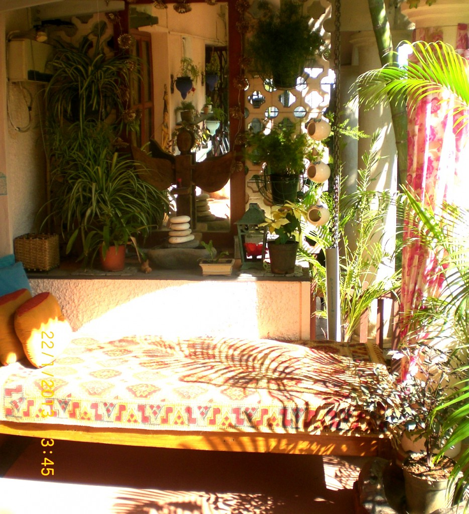 Seema and Rakesh garden sitout home Bangalore home tour
