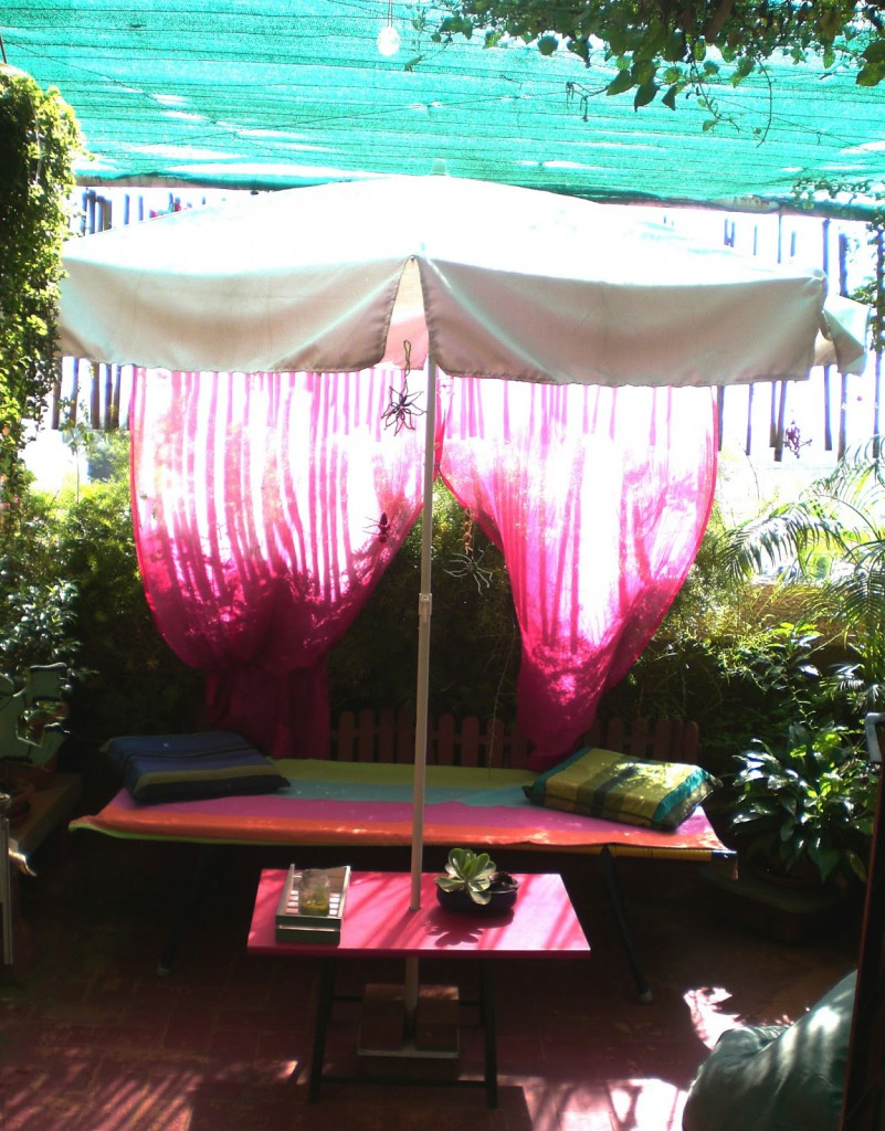 Seema and Rakesh bedroom deck home Bangalore home tour