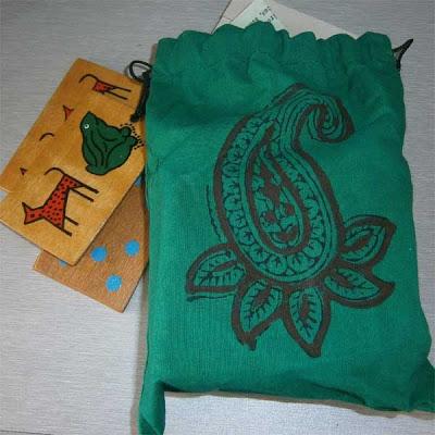 handmade, handpainted styleradha