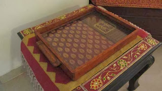 sushil's tray carpentry dhokra work