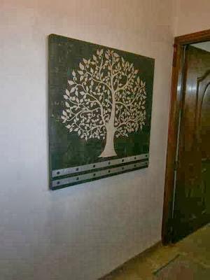 bodhi tree tree of life, entryway