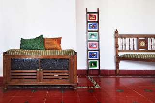 antiques tile inlay, attangundi floors