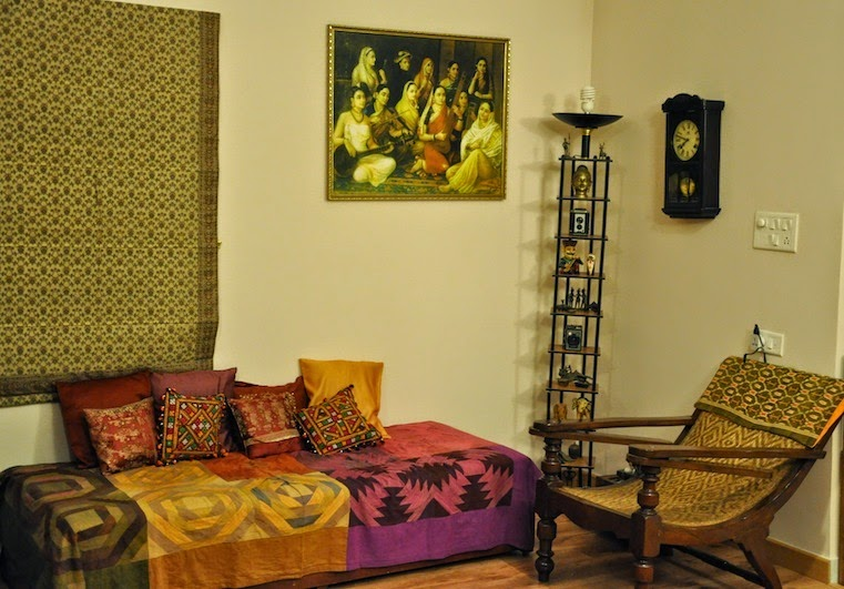 Aathi Anand's living room