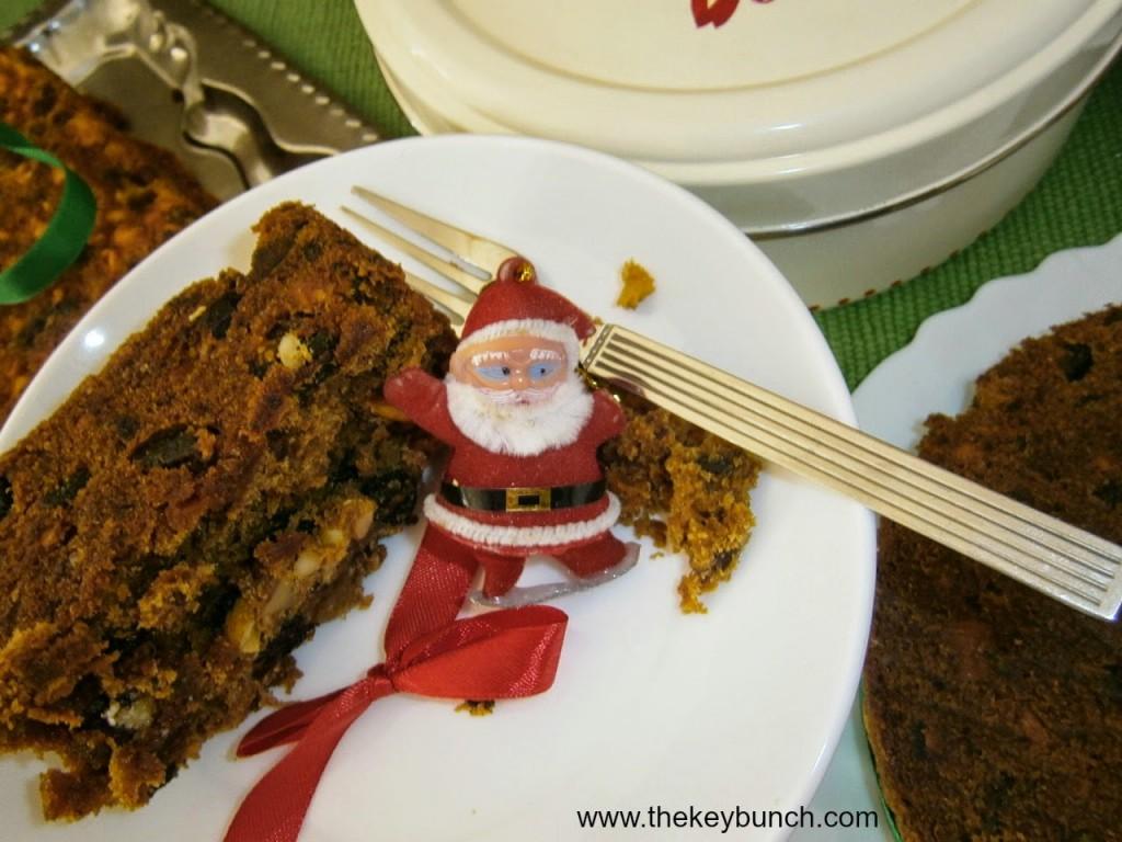 Homemade Christmas Cake - Recipe
