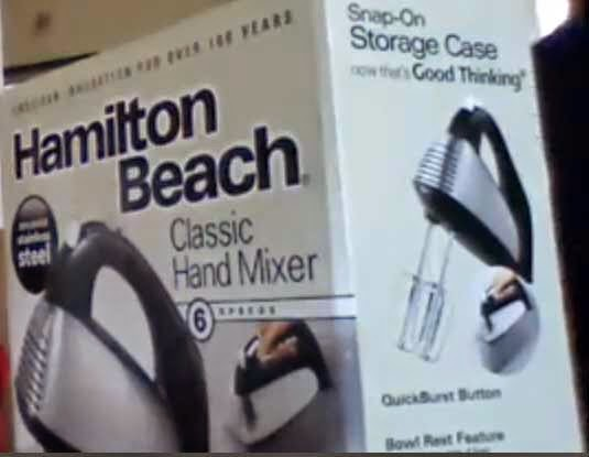 Product in Focus: Hamilton Beach OTG and Hand Mixer