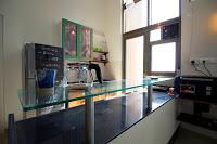 kitchen functional bachelor pad chalkboard