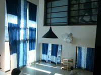 beachview apartment double length curtains