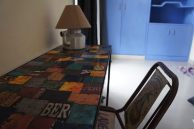 Terrace, patchwork, simple, Bed and Chai Guesthouse