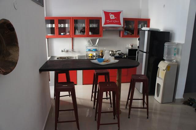 cosy kitchenette