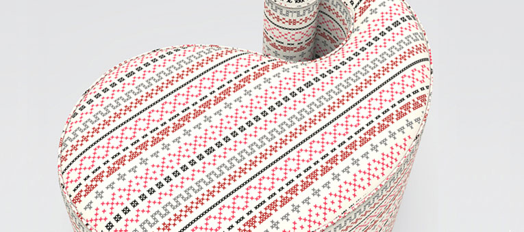 5 decor products pouffe