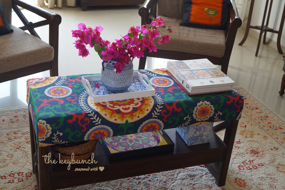 Table after makeover from crash - thekeybunch