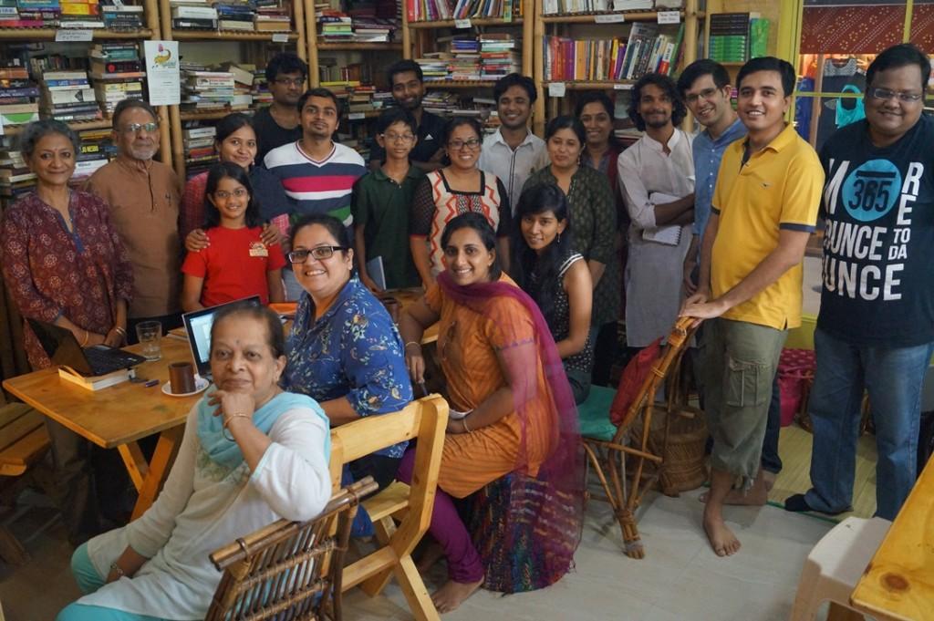 Kala Ramesh holds a Haiku workshop