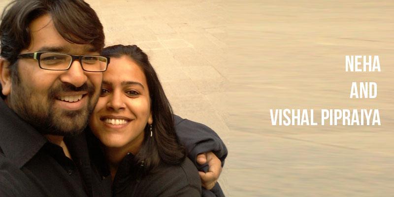 Neha and Vishal Pipraiya