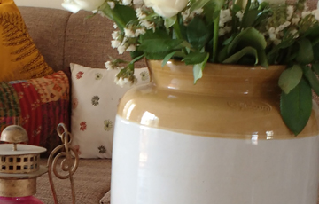 Simple Styling Ideas - 'Barni' or Indian Pickle Jar
