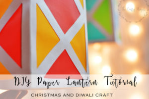 DIY paper lantern tutorial
