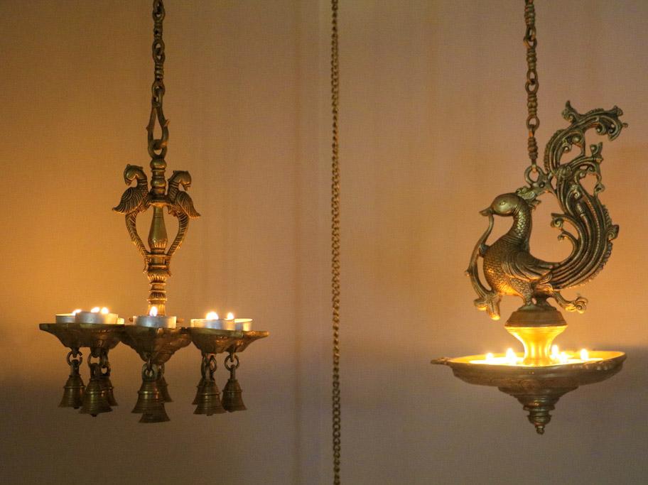hanging diya for diwali