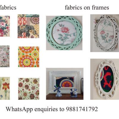 suzani vintage fabric frames