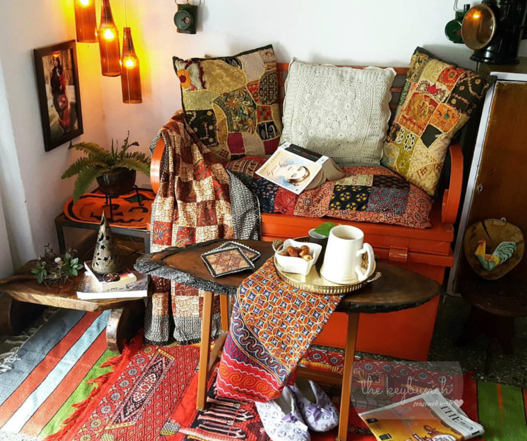 Reshma's hand-crafted home in the heart of an Indian metro