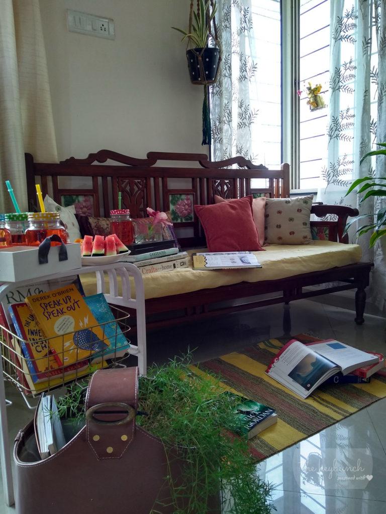 books in decor