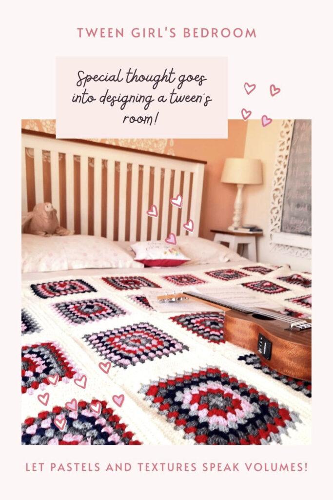 brighten up their mood and room - tween girl bedroom