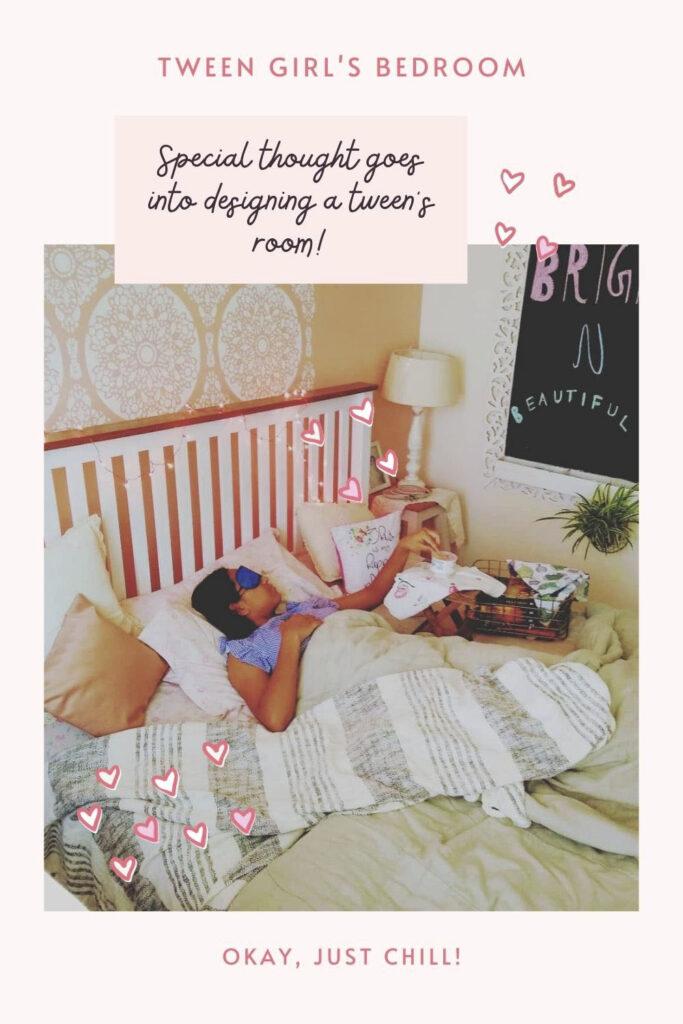 Tween girl bedroom decoration