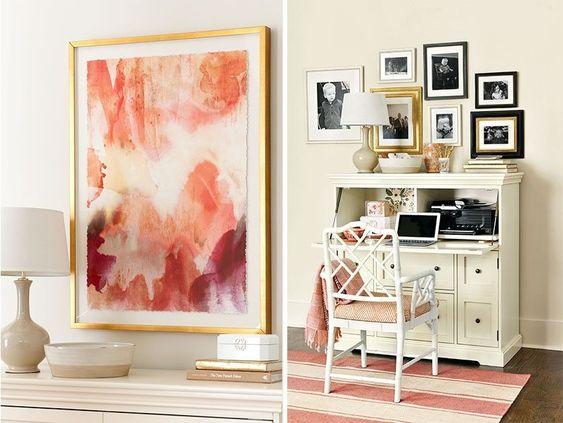 Living coral artwork