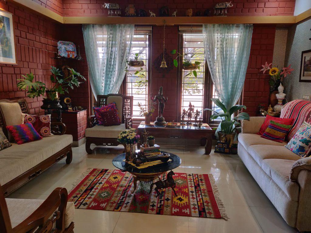 The global desi, green home of Shobha and Ramesh in Bengaluru
