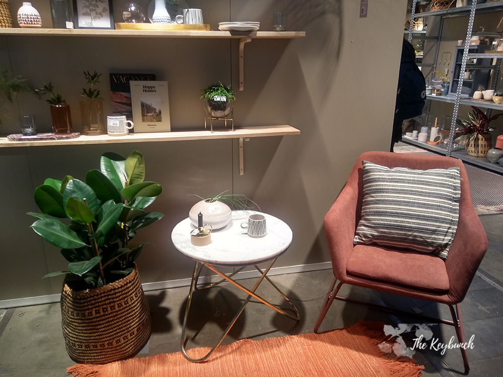 living trends displays at Ambiente 19 had incorporated living decor
