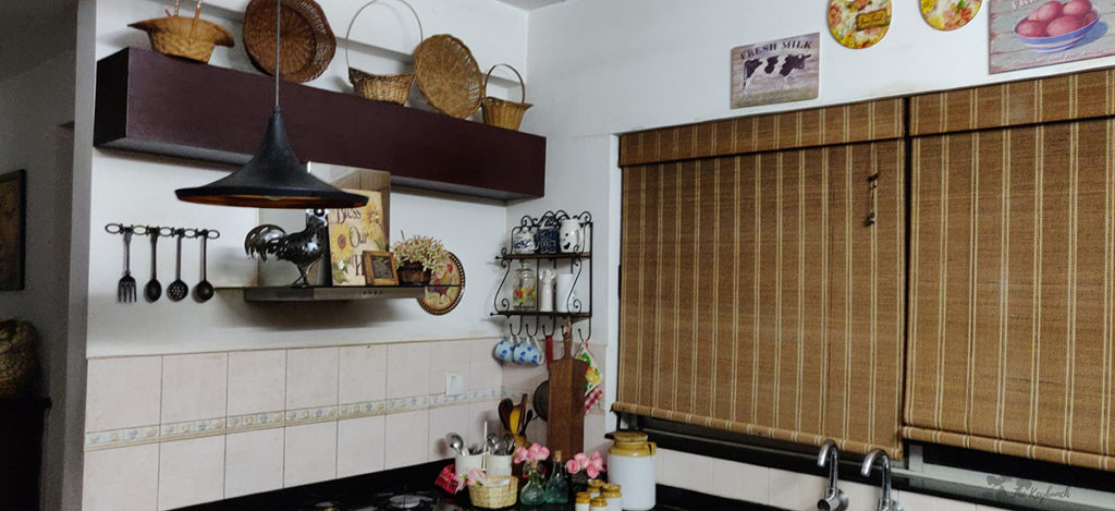 Jayashree Rajan's garden apartment tour on The Keybunch: kitchen