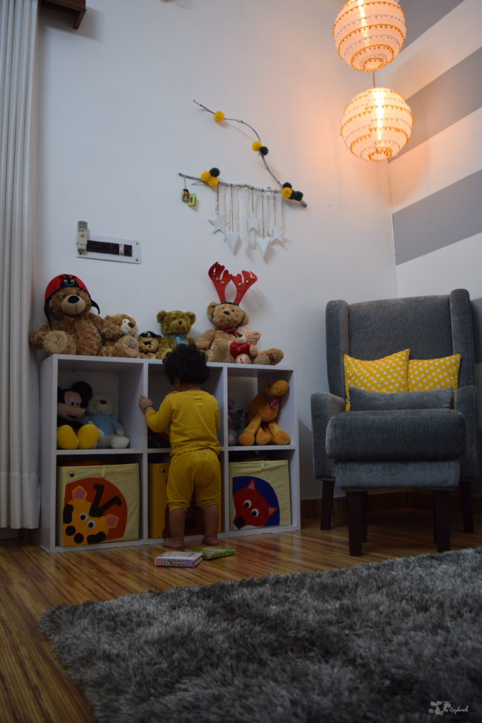 Home decor Tour by Ankita and Sitanshu's in Lucknow - Baby Miraansh on nursery room