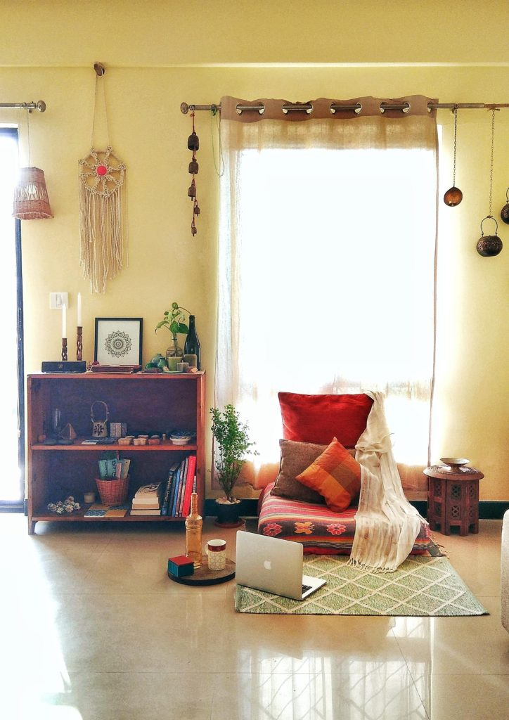 Jayati and Manali share their home tour as the science home décor - the study and working area