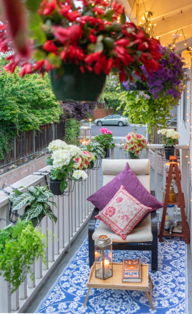Affinity for antiques and collection of vintage | Home tour of Rushika & Dipkal's - Love the lushness and the beauty of balcony garden