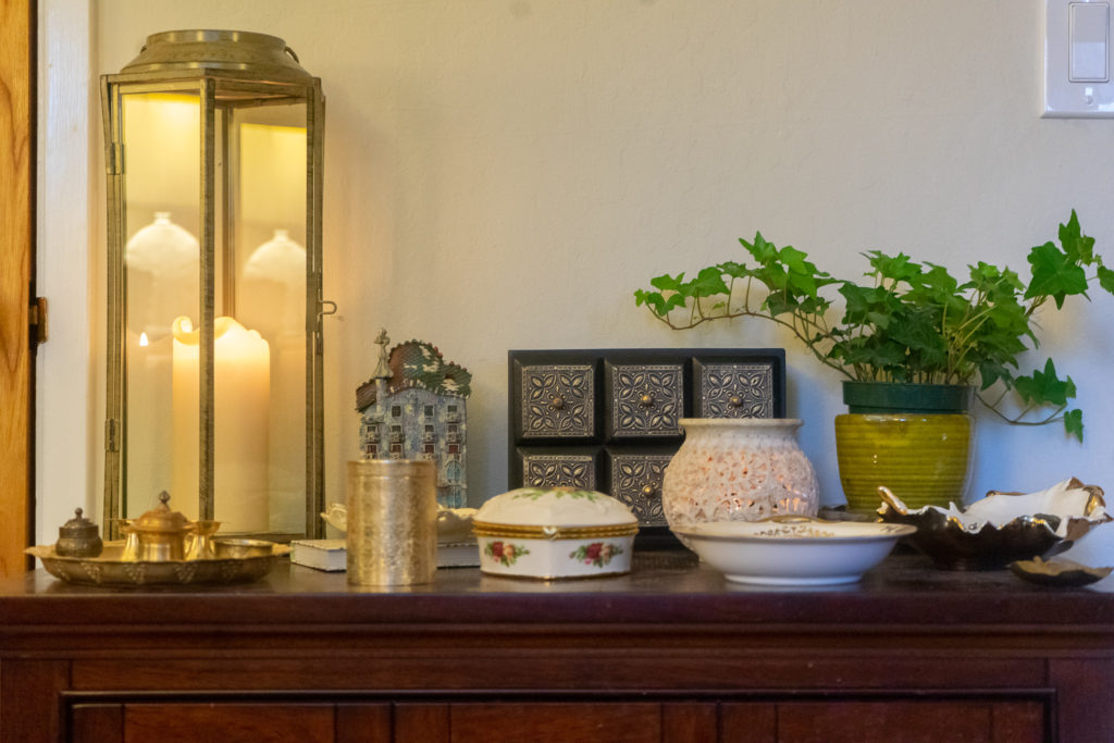 Affinity for antiques and collection of vintage | Home tour of Rushika & Dipkal's - An antiques collection of brass and bronze decor, candle stands and lanterns