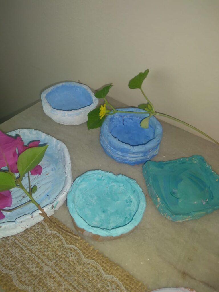 hand made pinch pots, diy | the keybunch decor blog post