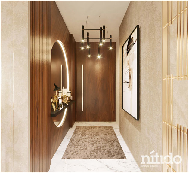 An assigned space or storage area near the main entrance will keep the house tidy and safe | Nitido interior designers | theKeybunch decor