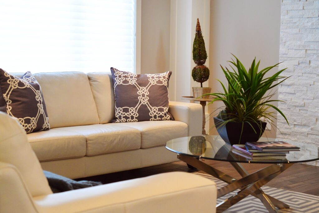 Clean and stylish living room decor | Make your Home Safe & Stylish | theKeybunch decor