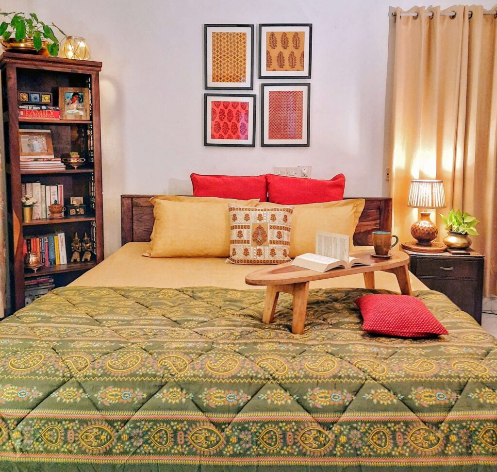 Cozy and elegant bedroom decor | Upasana Talukdar home tour | thekeybunch decor
