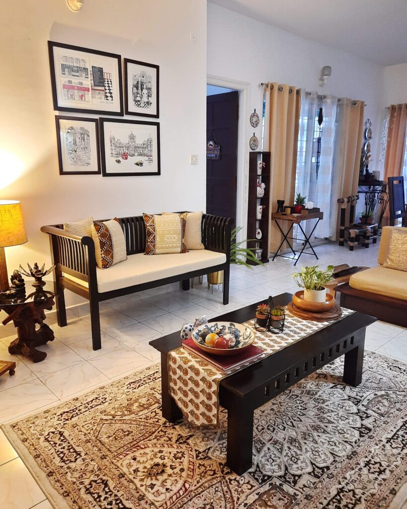 Living room decor | Upasana Talukdar home tour | thekeybunch decor
