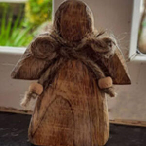 Buy our small wooden angels product from theKeybunch decor store