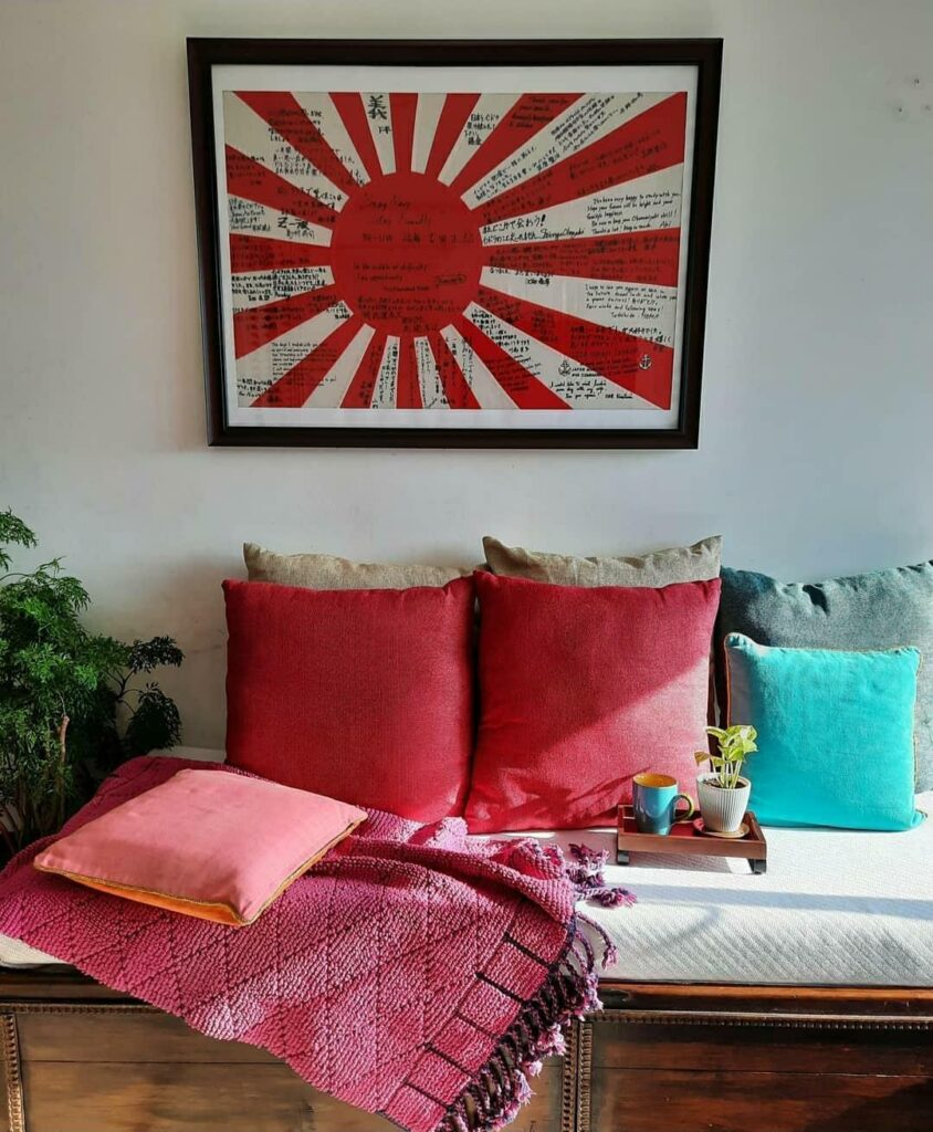 Sunlight view at the living room | Upasana Talukdar home  tour | thekeybunch decor
