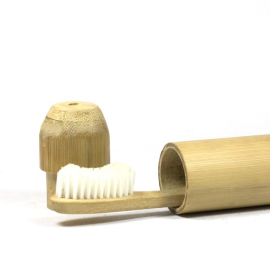 Bamboo toothbrush cover from geosmin.in - Decor trends 2021 for Indian homes | Thekeybunch decor blog