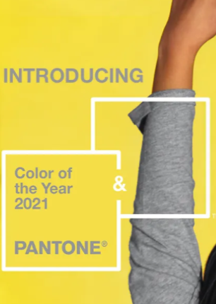 Pantone has announce two colors of the year 2021 is Yellow and Gray - Pantone® COTY21 theKeybunch decor blog
