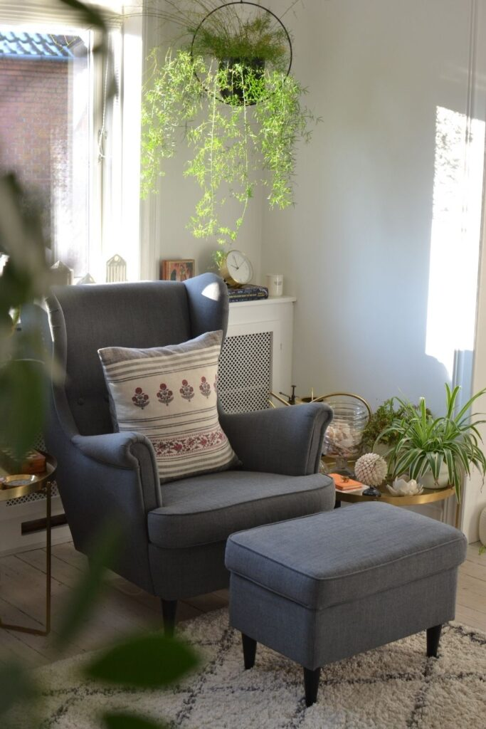 The beautiful sun light in this space | Naina's Scandi-Minimalist Home with Indian Accents