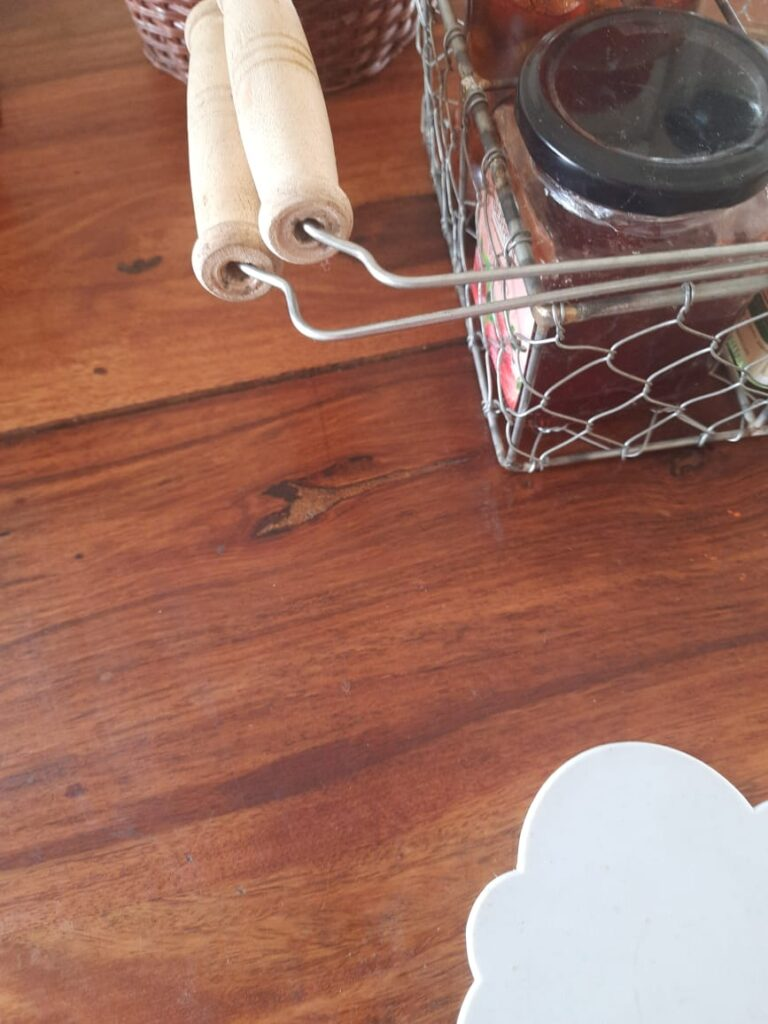 Metal woven wire table basket for home decoration | A case for Baskets | TheKeybunch decor blog