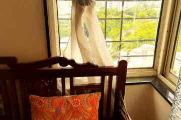 The joys of the monsoons is to make window decor light and breezy | Monsoon decor and living edit by Sharon Dsouza