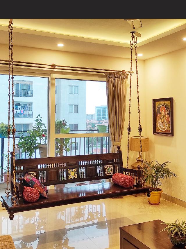 Indira Prashant Home Tour: A beautiful Antique Modern apartment in Bangalore