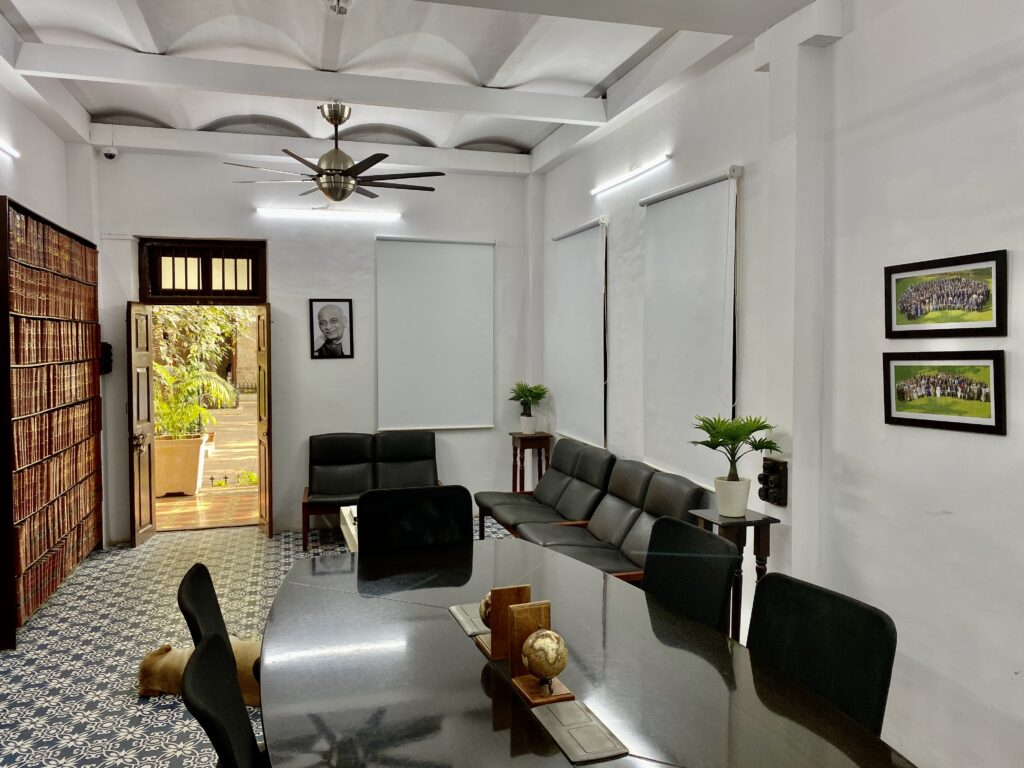 Villa Rashmi - A Heritage Gem in Mumbai   The vintage-style solicitor's office   TheKeybunch decor blog