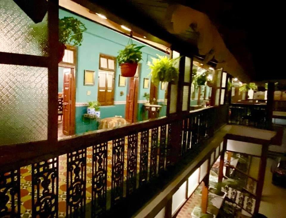 Villa Rashmi - A Heritage Gem in Mumbai   Hanging flower pot plant in veranda   TheKeybunch decor blog