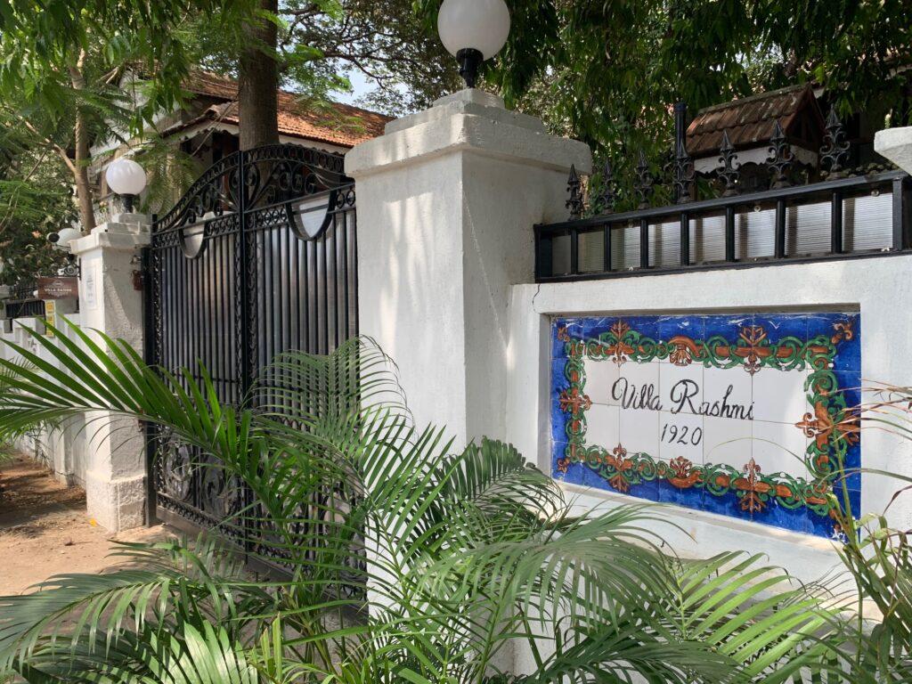 Villa Rashmi - A Heritage Gem in Mumbai   Villa Rashmi  is a one-of-a-kind 100-year old heritage villa in Mumbai   TheKeybunch decor blog